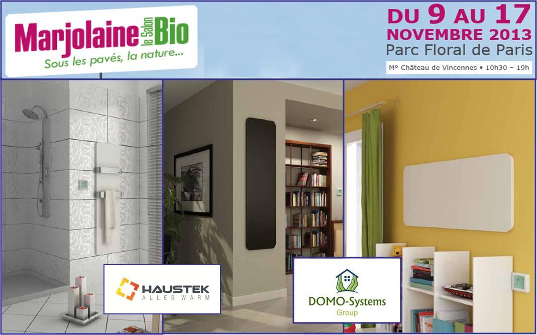 Domo-Systems au salon Marjolaine 2103